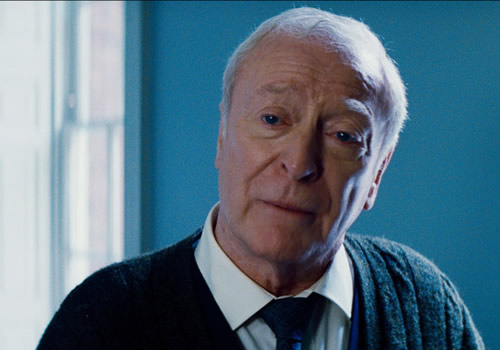 This movie needed way more of Michael Caine's Alfred